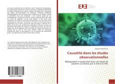 Bookcover of Causalité dans les études observationnelles