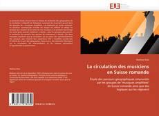Capa do livro de La circulation des musiciens en Suisse romande