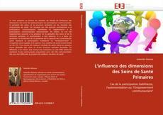 Bookcover of L'influence des dimensions des Soins de Santé Primaires