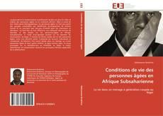 Bookcover of Conditions de vie des personnes âgées en Afrique Subsaharienne