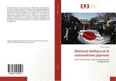 Обложка Shintarô Ishihara et le nationalisme japonais