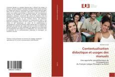 Обложка Contextualisation didactique et usages des manuels