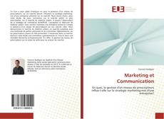 Buchcover von Marketing et Communication