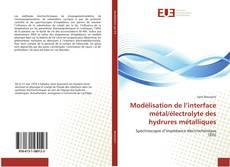 Couverture de Modélisation de l'interface métal/électrolyte des hydrures métalliques