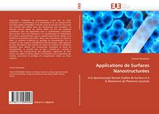 Bookcover of Applications de Surfaces Nanostructurées