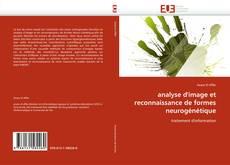 analyse d'image et reconnaissance de formes neurogénétique kitap kapağı