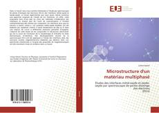 Buchcover von Microstructure d'un matériau multiphasé
