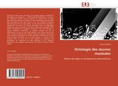 Portada del libro de Ontologie des œuvres musicales