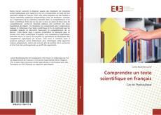 Buchcover von Comprendre un texte scientifique en français