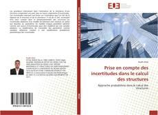 Portada del libro de Prise en compte des incertitudes dans le calcul des structures