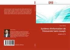 Buchcover von Système d'Information de l'Université Saint-Joseph