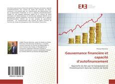 Gouvernance financière et capacité d'autofinancement kitap kapağı