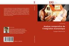 Analyse comparative de l'intégration économique kitap kapağı