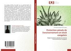 Bookcover of Protection pénale de l'environnement en droit congolais