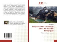 Polyphénols de l'azérole et étude des activités biologiques的封面
