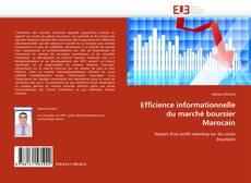 Borítókép a  Efficience informationnelle du marché boursier Marocain - hoz