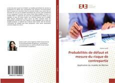 Borítókép a  Probabilités de défaut et mesure du risque de contrepartie - hoz
