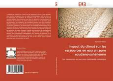 Bookcover of Impact du climat sur les ressources en eau en zone soudano-sahélienne