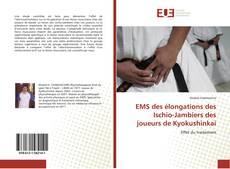 EMS des élongations des Ischio-Jambiers des joueurs de Kyokushinkai kitap kapağı