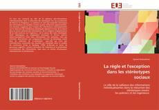 Capa do livro de La régle et l'exception dans les stéréotypes sociaux