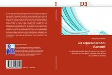 Capa do livro de Les représentations d'acteurs