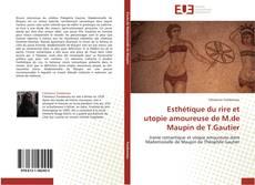 Copertina di Esthétique du rire et utopie amoureuse de M.de Maupin de T.Gautier
