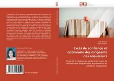 Bookcover of Excès de confiance et optimisme des dirigeants des acquéreurs