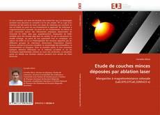 Buchcover von Etude de couches minces déposées par ablation laser