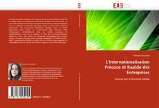 L'Internationalisation Précoce et Rapide des Entreprises的封面