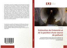 Couverture de Estimation de l'intensité et de la position d'une source de polluant