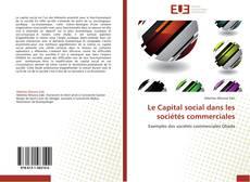 Le Capital social dans les sociétés commerciales kitap kapağı