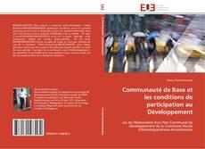 Bookcover of Communauté de Base et les conditions de participation au Développement