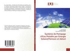 Capa do livro de Système de Pompage d'Eau Potable par Energie Solaire(Tlemcen et Adrar)