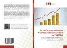 Bookcover of La performance dans les finances publiques au sein de l'UEMOA
