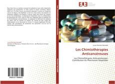 Capa do livro de Les Chimiothérapies Anticancéreuses