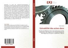 Usinabilité des aciers durs kitap kapağı