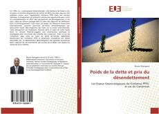Bookcover of Poids de la dette et prix du désendettement