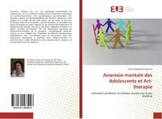 Portada del libro de Anorexie mentale des Adolescents et Art-thérapie