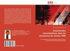 Portada del libro de Evolutiondes rémunérations dans les entreprises du secteur PME