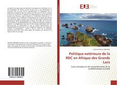 Copertina di Politique extérieure de la RDC en Afrique des Grands Lacs