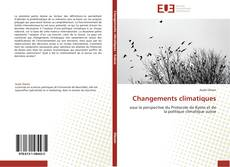 Buchcover von Changements climatiques