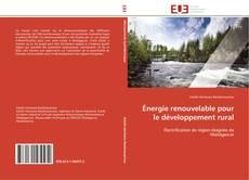 Couverture de Énergie renouvelable pour le développement rural
