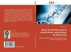 Ajout de données pour la classification automatique de Microarray kitap kapağı