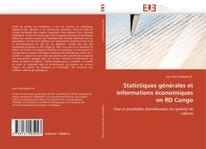 Bookcover of Statistiques générales et informations économiques en RD Congo
