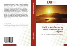 Bookcover of Profil et satisfaction au travail des enseignants congolais