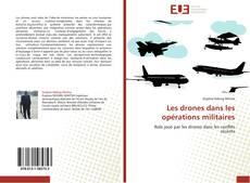 Обложка Les drones dans les opérations militaires