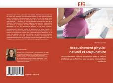 Buchcover von Accouchement physio-naturel et acupuncture