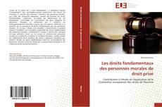 Bookcover of Les droits fondamentaux des personnes morales de droit privé