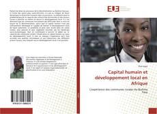 Portada del libro de Capital humain et développement local en Afrique