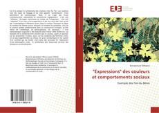 """Couverture de """"Expressions"""" des couleurs et comportements sociaux"""